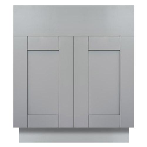 Anchester Grey Shaker Bathroom Vanities