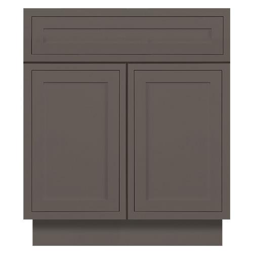 Dark Grey Inset Bathroom Vanities