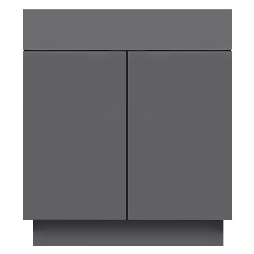 Gloss Grey Bathroom Vanities