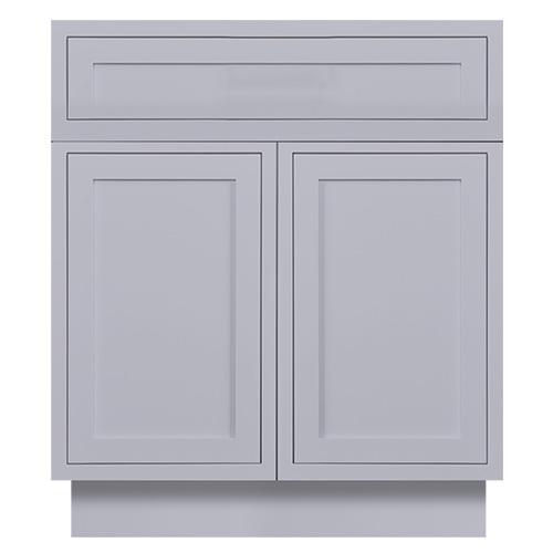 Light Grey Inset Bathroom Vanities