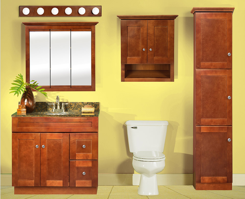 Sahara Shaker Bathroom Vanities