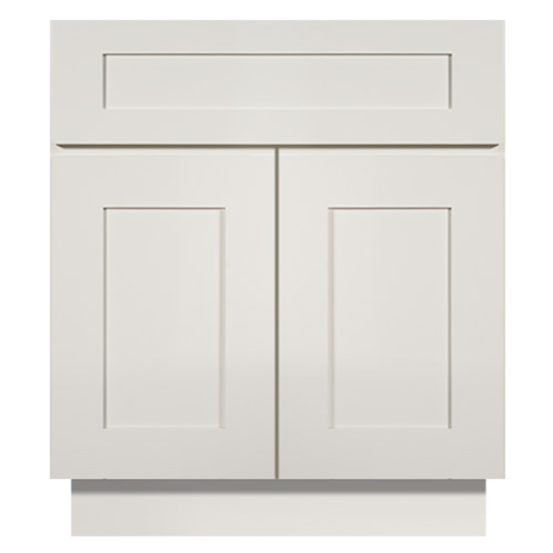 Weston White Shaker Bathroom Vanities