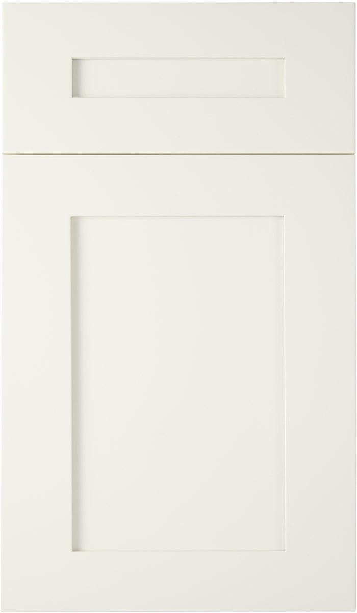 Ivory White Shaker Bathroom Vanities