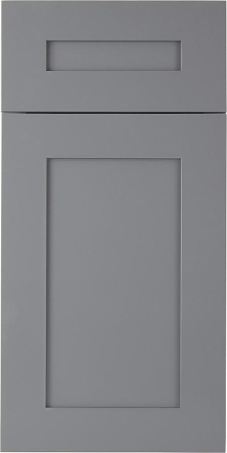 Storm Grey Shaker Bathroom Vanities
